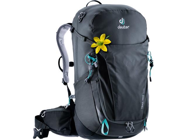 Deuter Trail Pro 30 SL Mochila Mujer, graphite-black